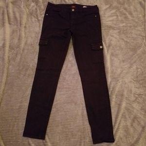 Arizona grey cargo skinny Jeans, sz 9